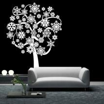 Flocons de neige arbre