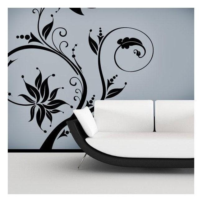 Fleurs décoratives en vinyle