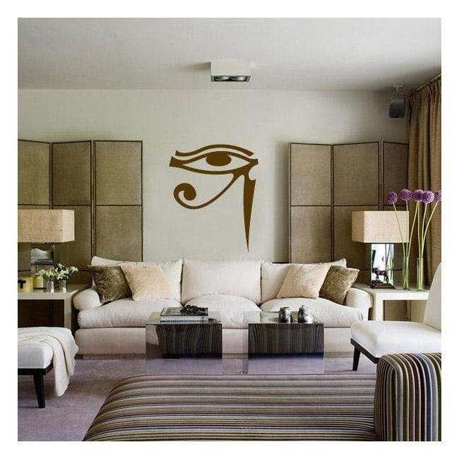 Œil de vinyle décoratif d'Horus