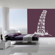 Tour de Pise I vinyle décoratif