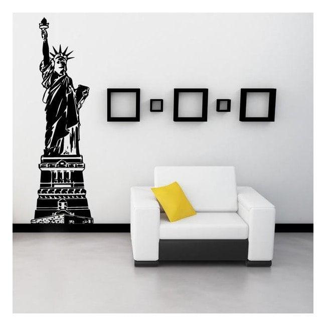 Statue décorative de vinyle de la liberté