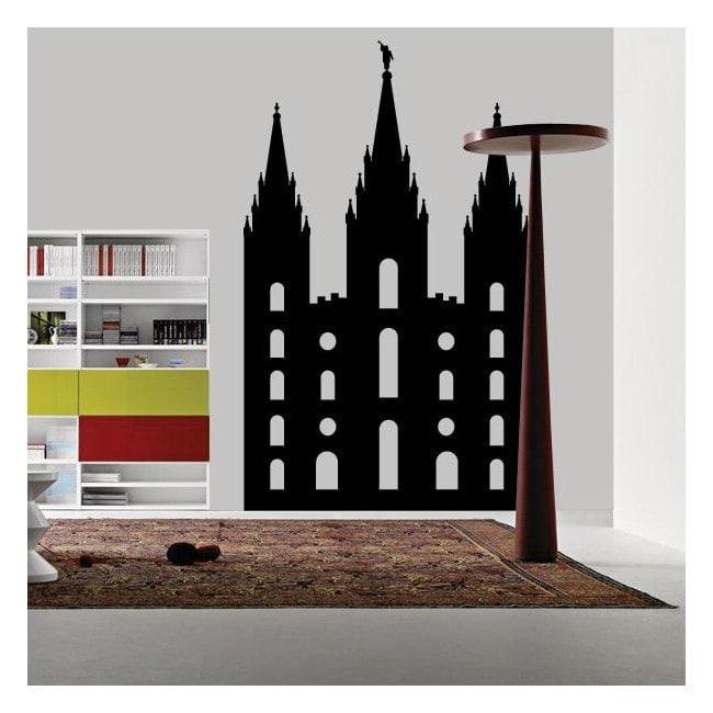 Décoratif vinyl cathédrale