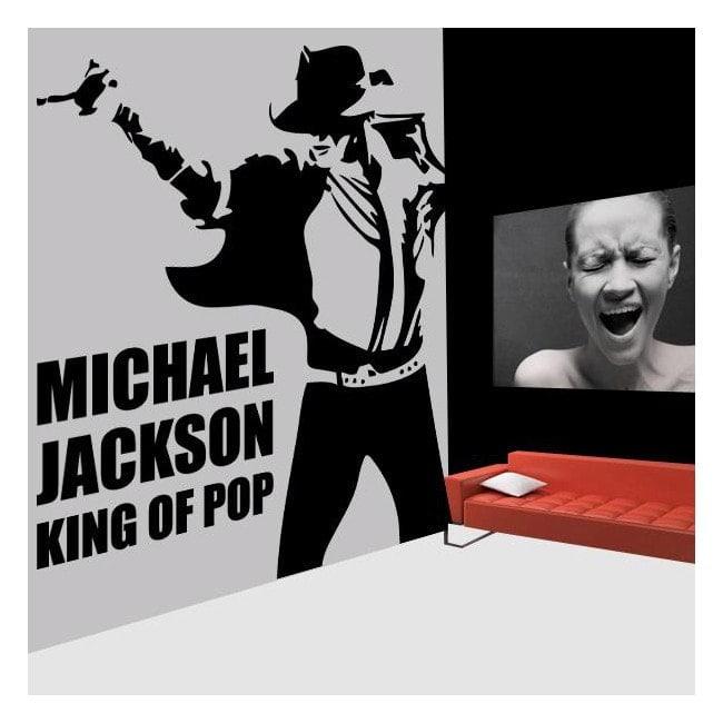 Décoratif vinyl Michael Jackson