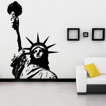 Statue décorative de vinyle de la liberté j'ai