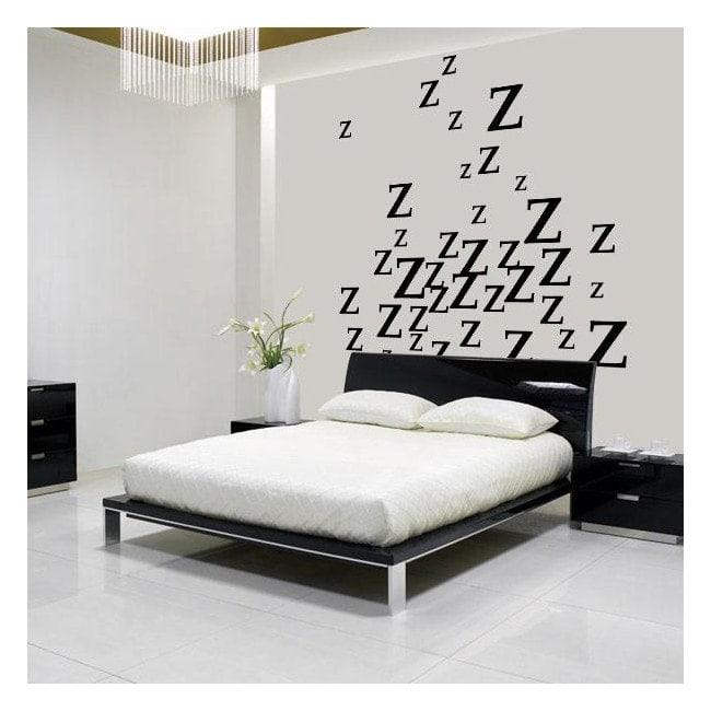 Vinyle décoratif sommeil est un plaisir