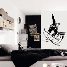 Décoratif vinyl Snowboard