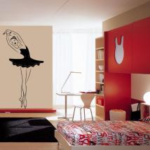 Danseur de vinyle décoratif