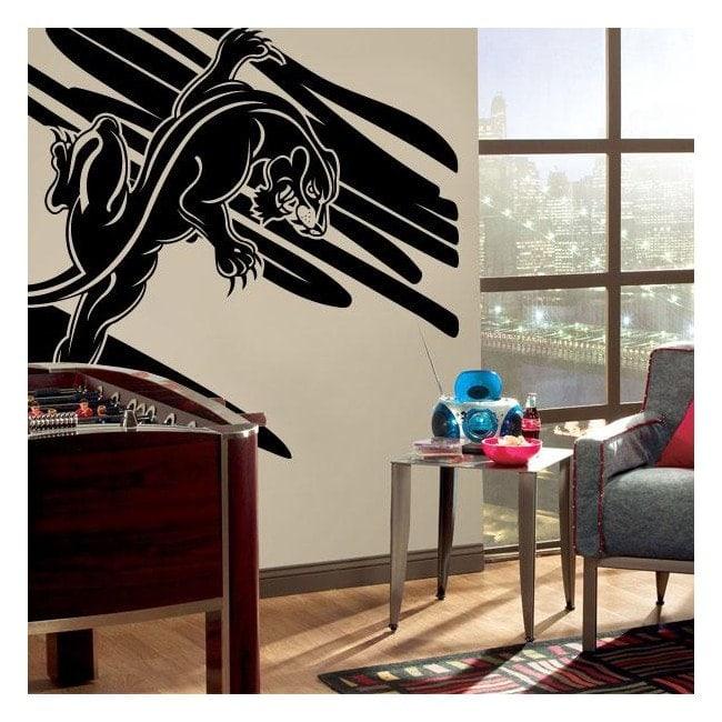 Décoratif vinyl Panther