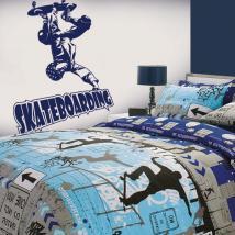 Vinyle décoratif Skateboarding