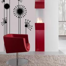 Stickers muraux fleur minimaliste French 545