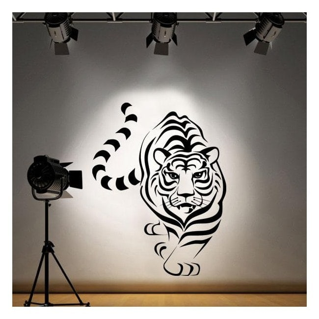Vinyle décoratif tigre