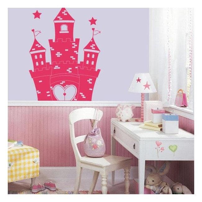 Décorer les murs de Château de princesse
