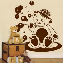 Décorer les murs ours enfant