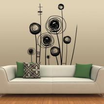 Décorer de fleurs murs Picasso
