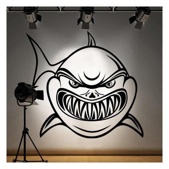 Requin de vinyle décoratif