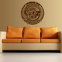 Œil de mur décoration d'Horus