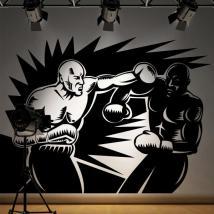 Décoration de murs de boxeurs