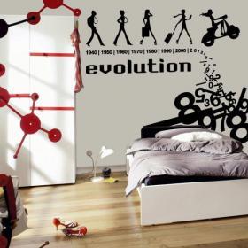 Vinyle décoratif Evolution
