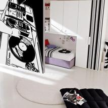 Décoratif vinyl DJ Studio