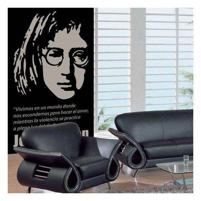 Décoratif vinyl John Lennon
