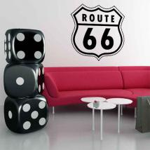 Décoratif vinyl Route 66