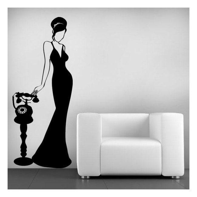 Femme mur de décoration Vintage j'ai
