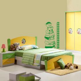 Décoration murs mètre hauteur enfants