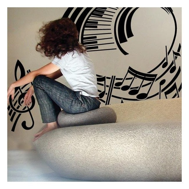 Décoration des murs Musical personnel