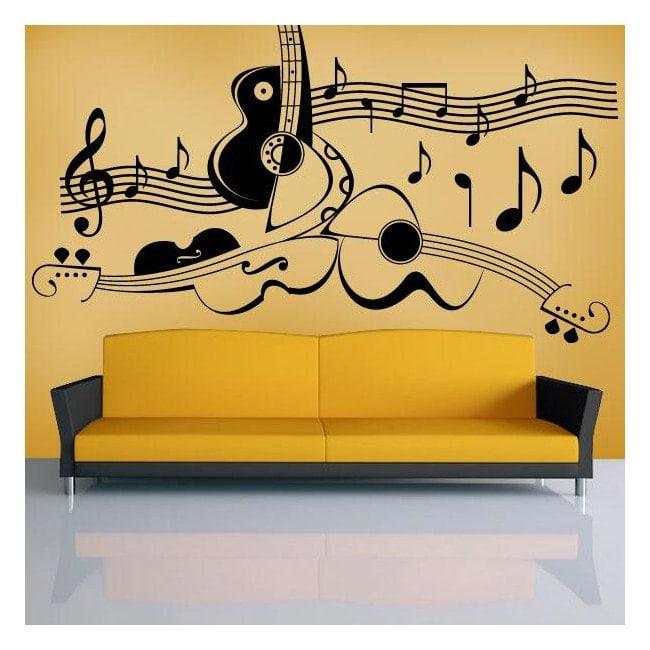 Musique savante de décoration murale