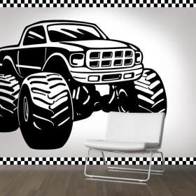 Décoration murs Monster Truck