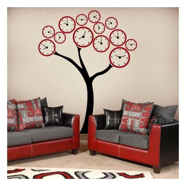 Décorer les murs arbre montres