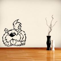 Animal mignon vinyle décoratif