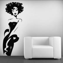 Femme vinyle décoratif Deluxe