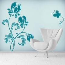 Sticker Floral de tendresse