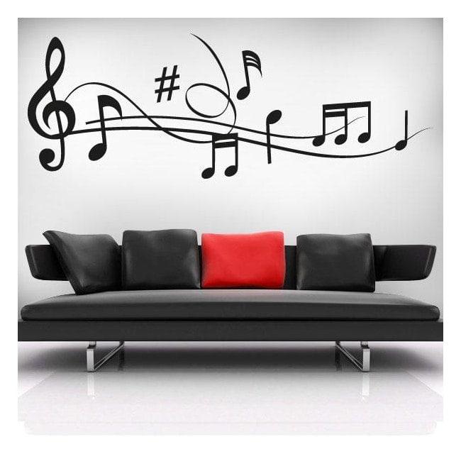 Vinyles décoratifs Musical personnel