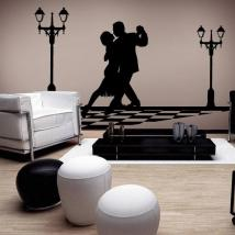 Panneaux luminescents divisant fluowall Tango