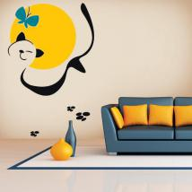 Décoratif vinyl Animal Art