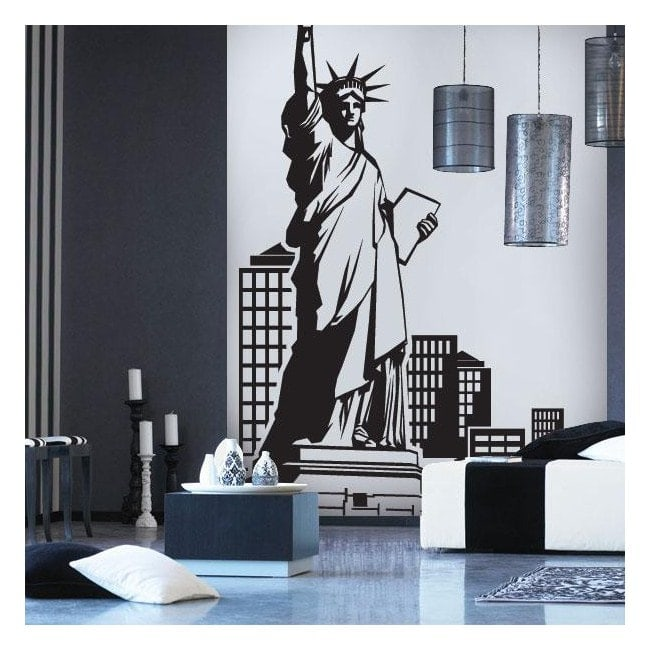Vinyle décoratif New York French 619