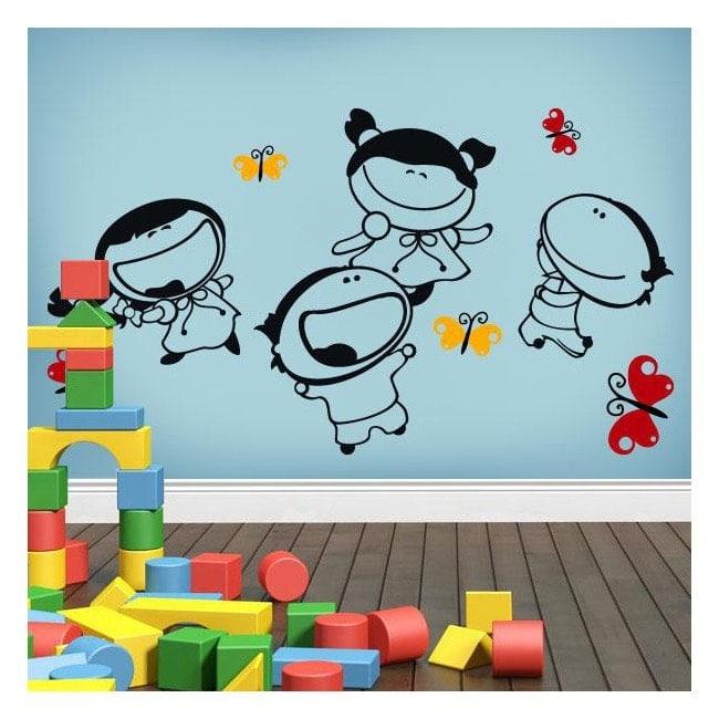 Joie de vinyle décoratif enfant