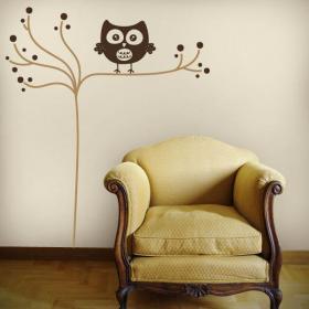 Panneaux luminescents divisant fluowall minimaliste OWL
