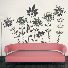Fleurs design décoratif vinyl