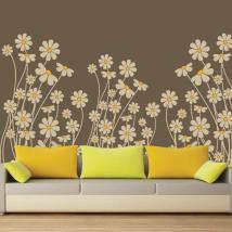 Stickers muraux fleur de printemps