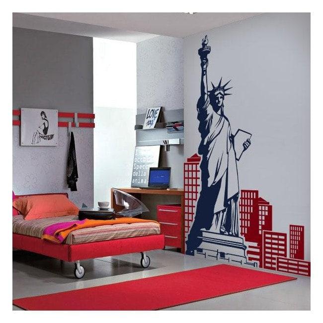 Vinyle décoratif New York French 654