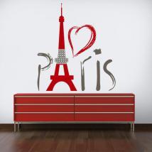 Vinyle décoratif Tour Eiffel Paris