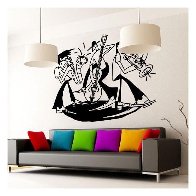 Panneaux luminescents divisant fluowall Picasso Jazz