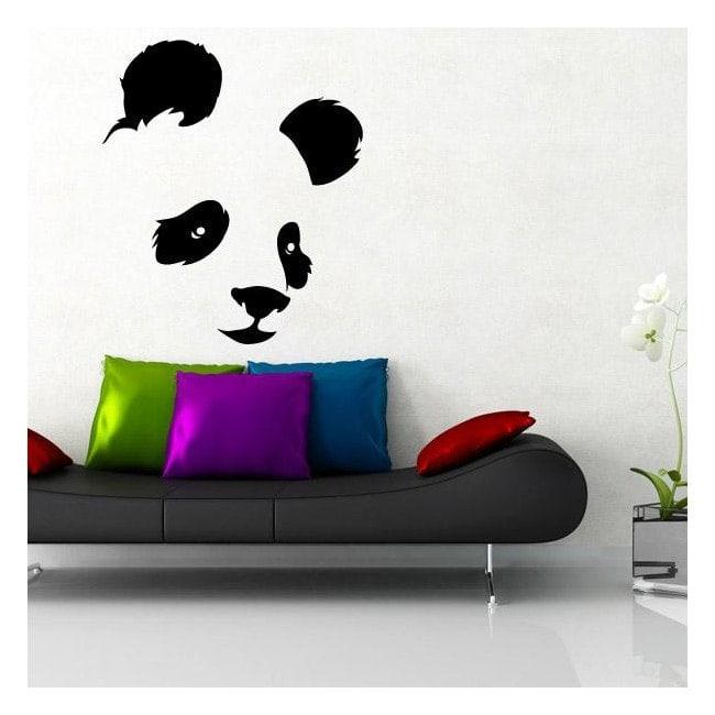 Ours décoratif vinyl Panda