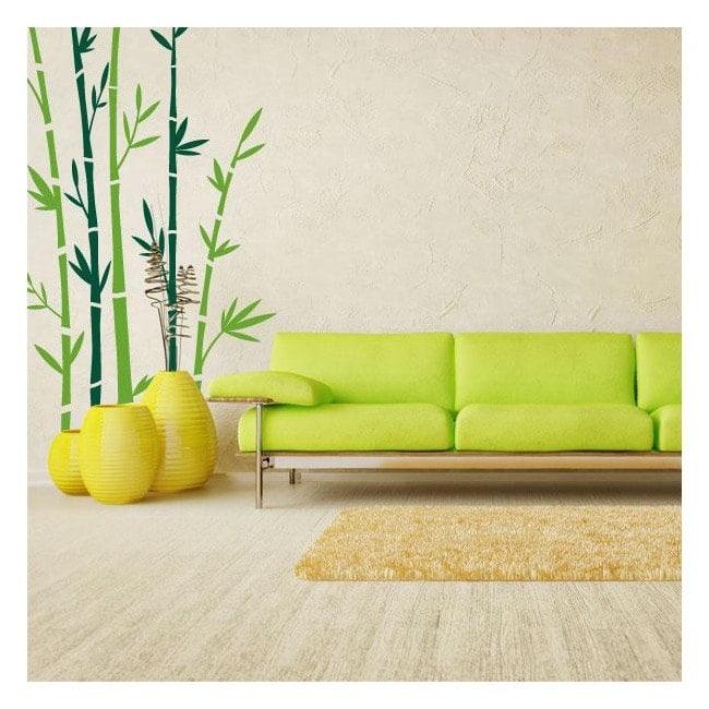 Bambou de murs d coratifs en vinyle for Murs exterieurs decoratifs