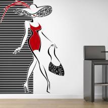 Murs décoratifs en vinyle de la mode