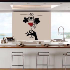 Cuisines de vinyle décoratif avec style
