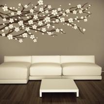 Mur de vinyle décoratif Floral nature